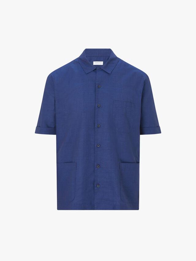 Short Sleeve Leisure Shirt