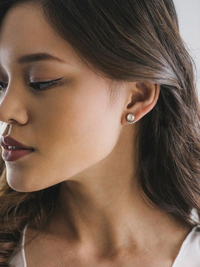 Mimosa Post Earrings