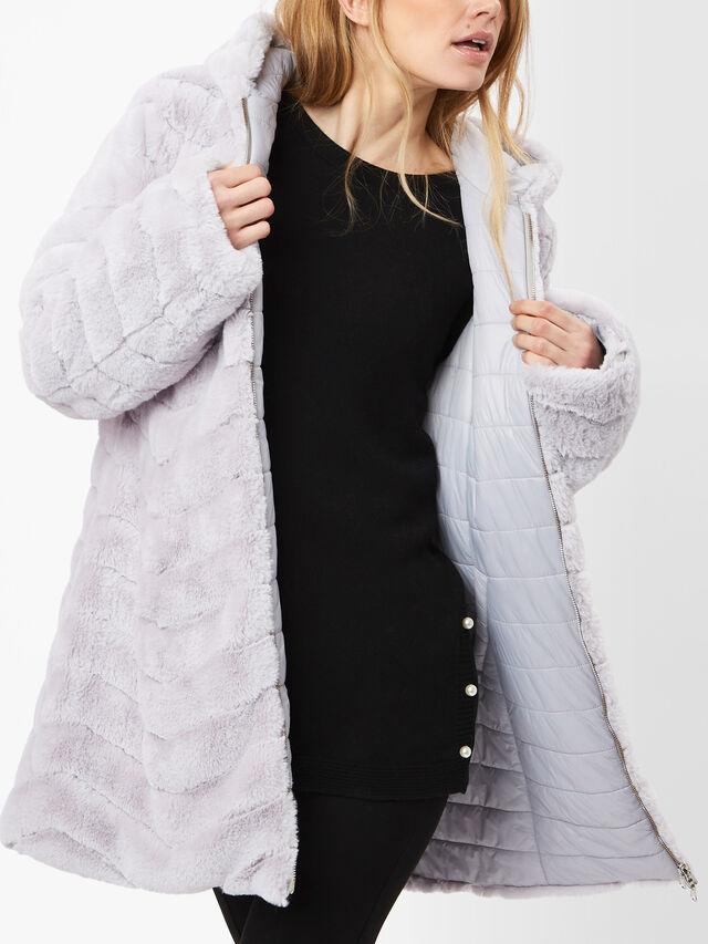 Reversible Faux Fur