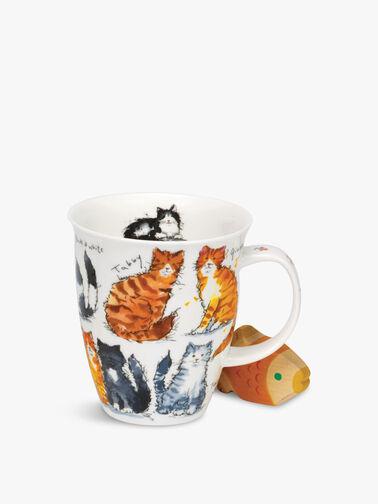 Nevis Messy Cats Mug