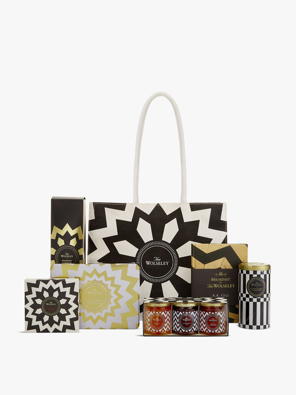 The Wolseley's Champagne Summer Tote