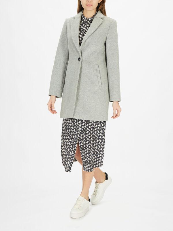 Light Grey Boyfriend Coat