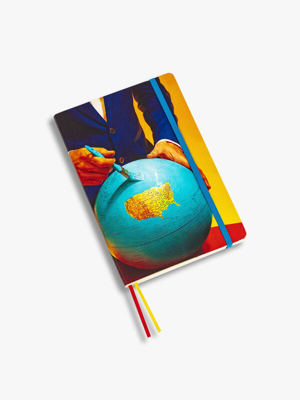 Toiletpaper Large Notebook Globe