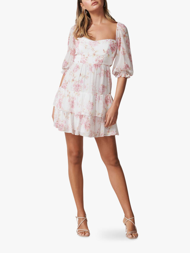 Janine Sweetheart Mini Dress