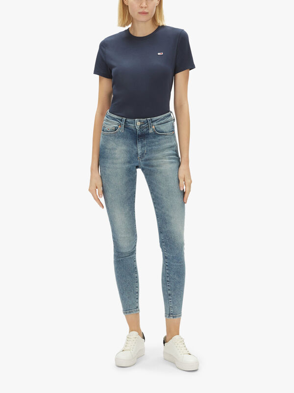 Sylvia High Rise Super Skinny Jeans