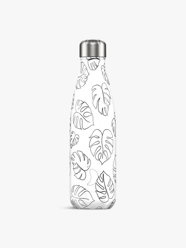 Line Drawing Leaves Bottle 500ml