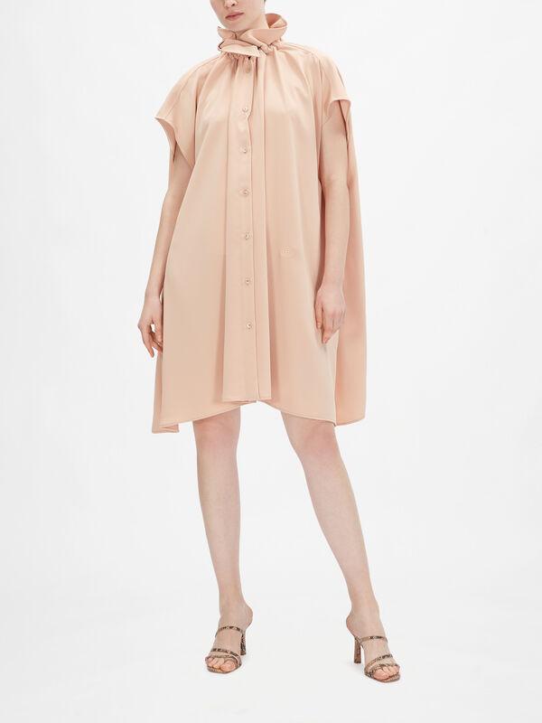 Fluid Short Sleeve Dress
