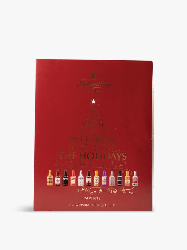 24 Chocolate Liqueur Advent Calendar 375g