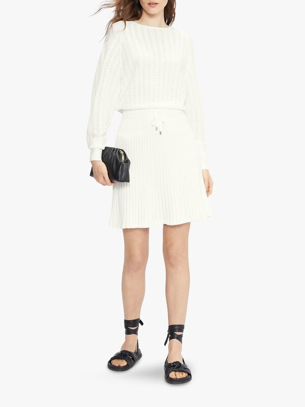 BRIYELE Pointelle Knit Dress