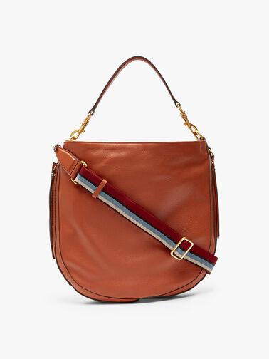 Iris Zip Detail Hobo Bag
