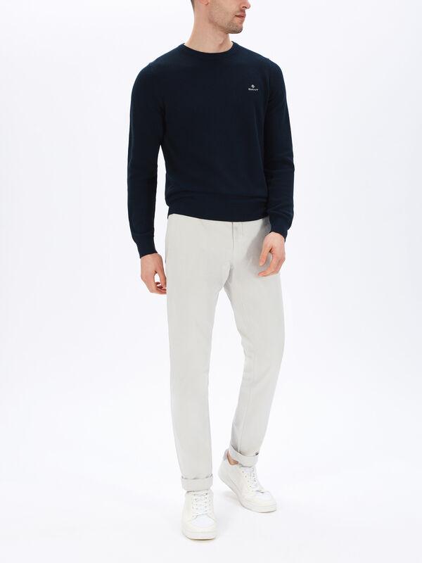 Pique Crew Sweatshirt