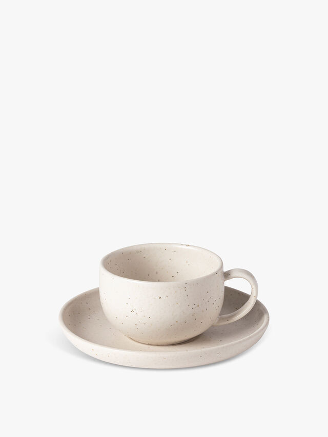 Pacifica Tea Cup and Saucer