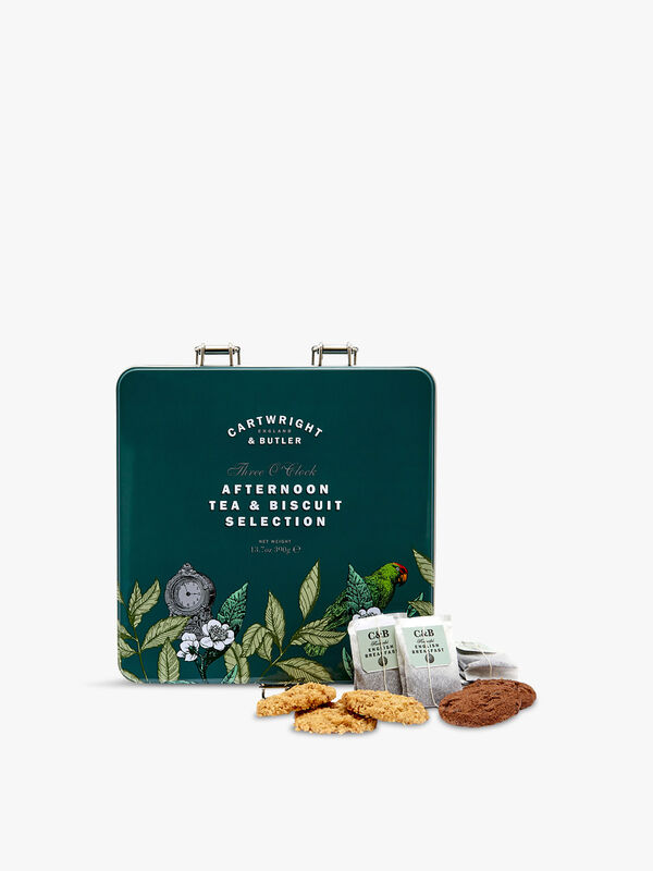 Three O'Clock Afternoon Tea and Biscuits Selection