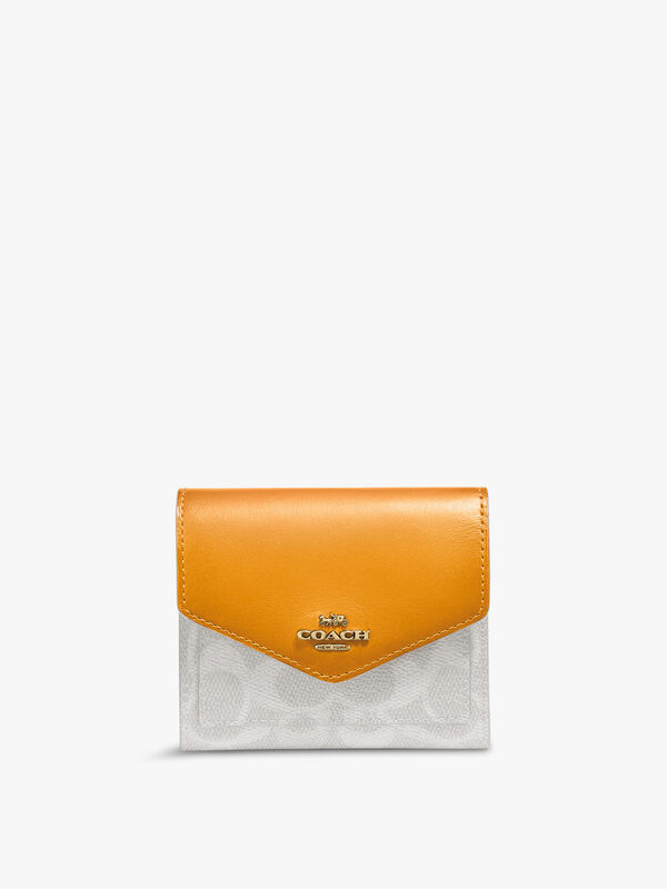 Colourblock Signature Small Wallet