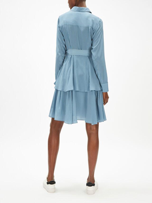 Verve Stripe Shirt Dress
