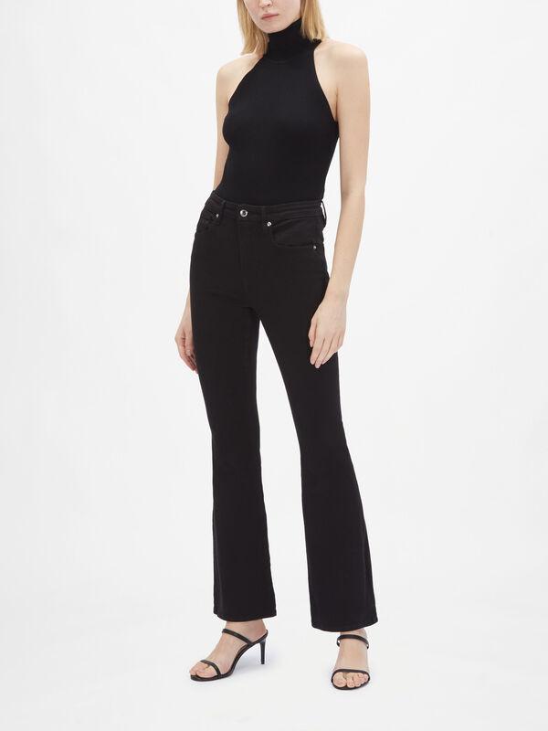 Good Flare Full Length Jeans