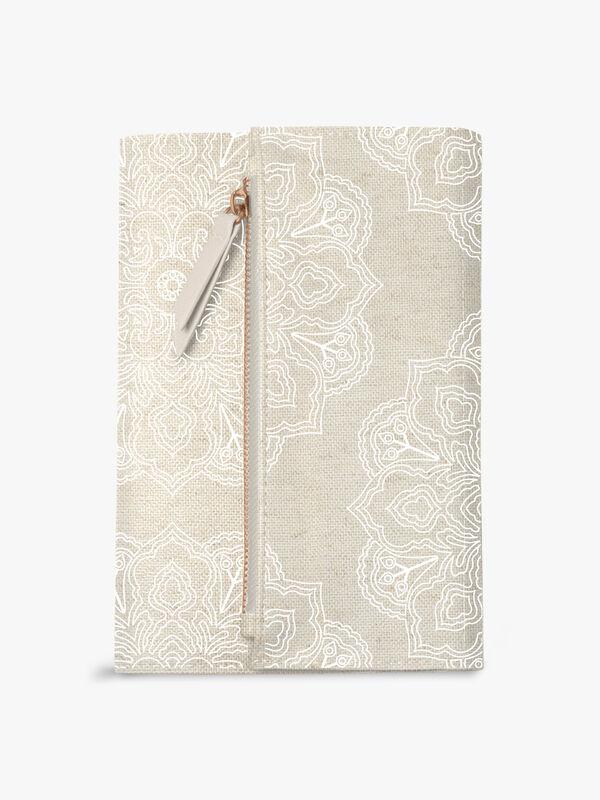 Mandala Linen Journal