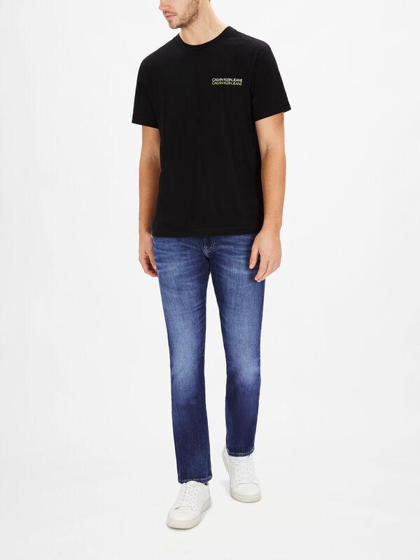 Skater Photo Neon T-Shirt