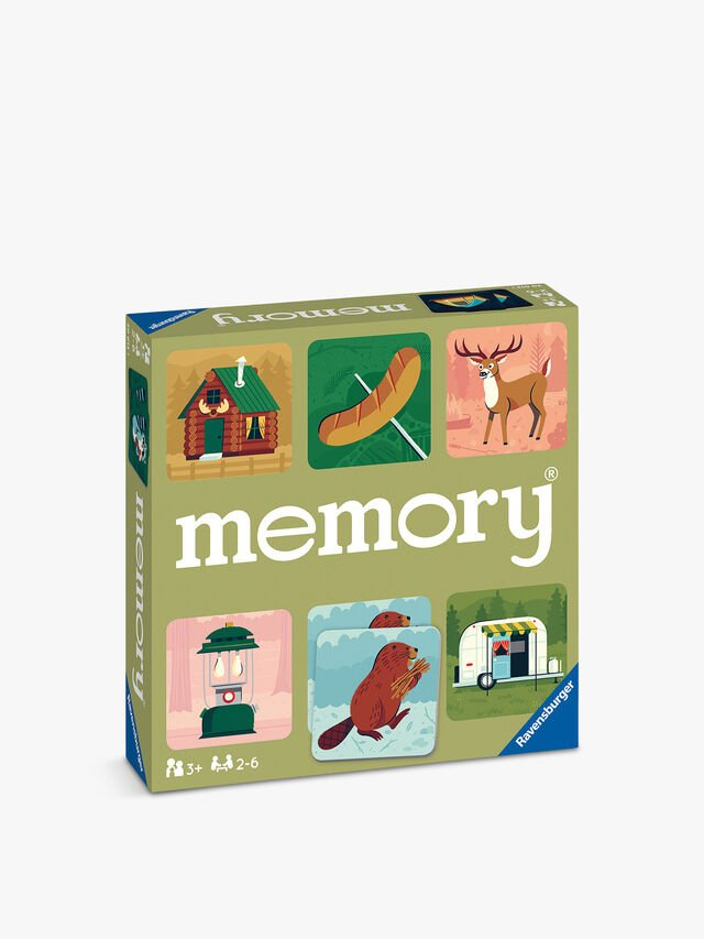 Camping Adventures Large Memory Game