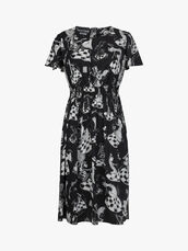 Novelty-Print-Cap-Sleeve-Midi-Dress-0001047050