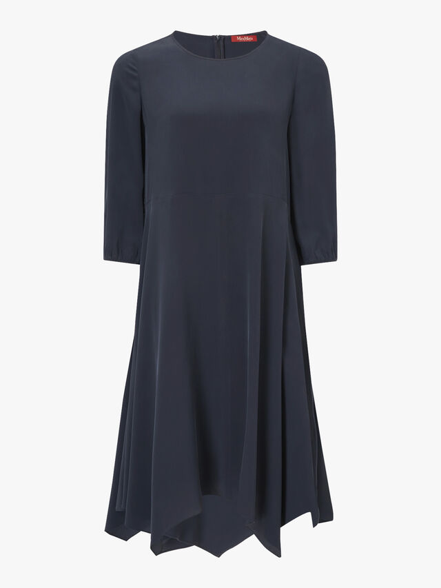 Gallo Asymmetric Hem Dress