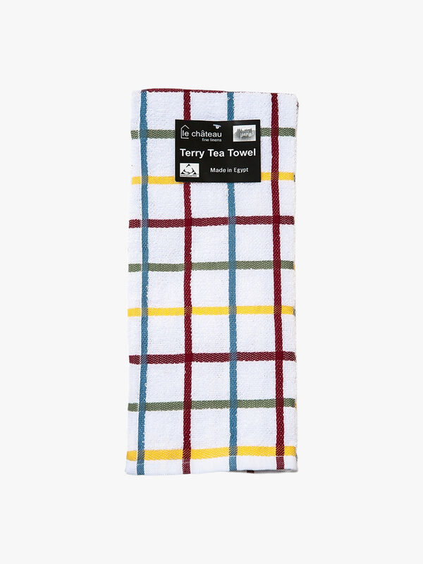 Cotton Terry Large Tea Towel