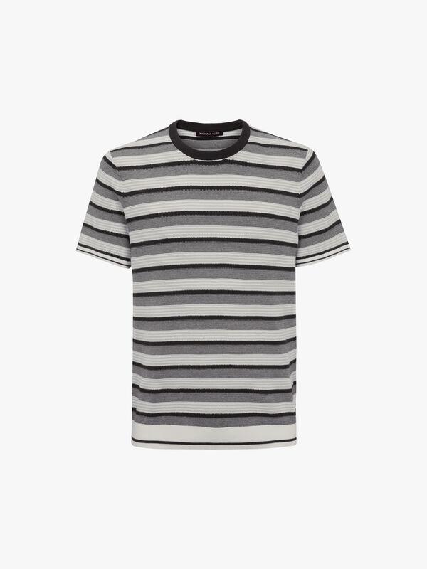 Textured Stripe T-Shirt