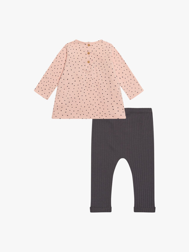 T-Shirt and Trousers Set