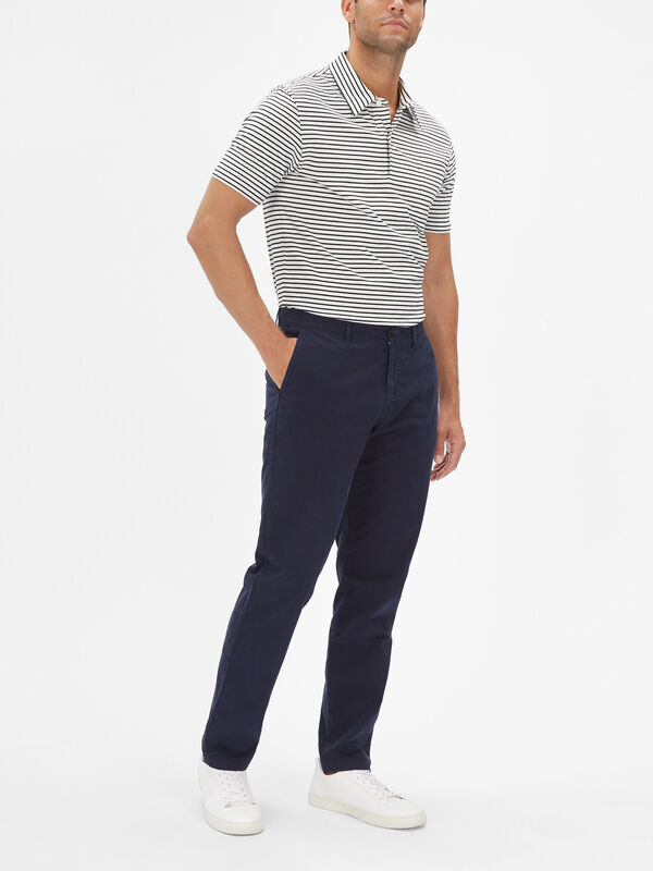 Tapered Stitched Chinos