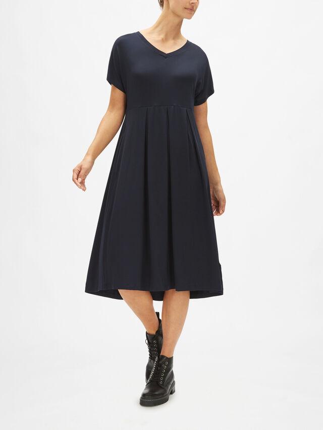 Ocisa Jersey Gath Waist Dress