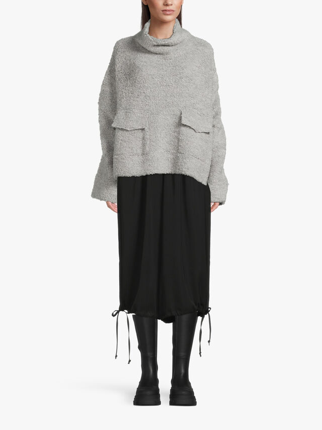 Cosy Funnel Neck Lounge Top