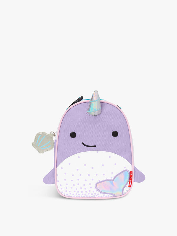 Zoo Lunchie Narwhal Lunch Bag