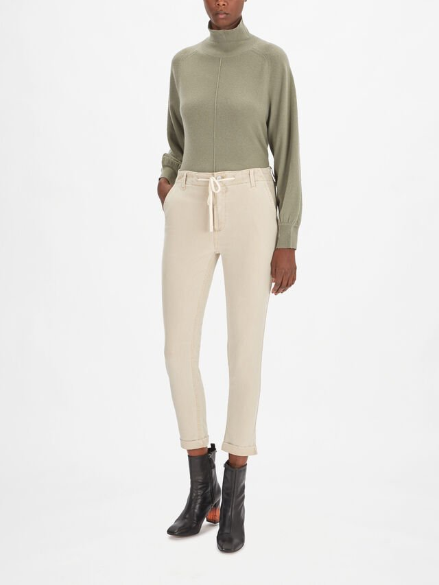 Christy Drawstring Pant with Cuff