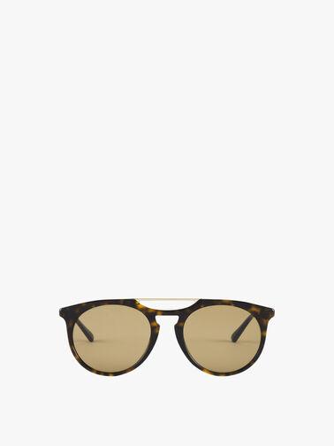 Double Bridge Acetate Sunglasses