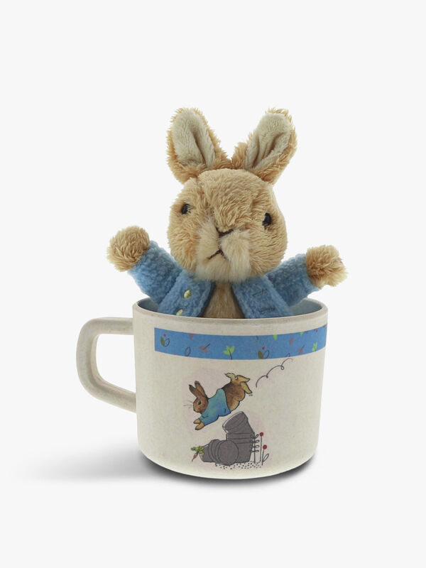 Peter Rabbit Mug & Soft Toy