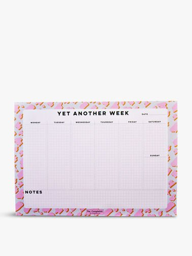 Weekly Planner Pink Animal Notepad