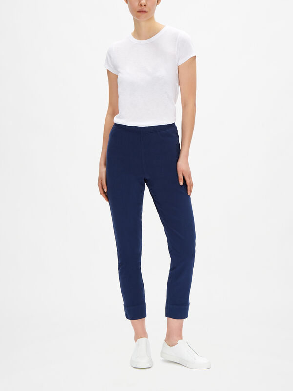 Stretch Cotton Twill Trouser