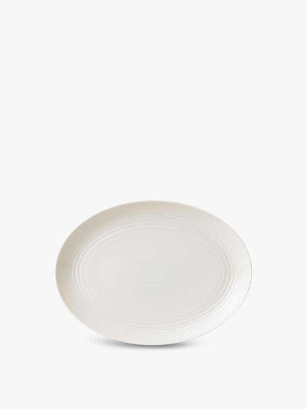 Maze Oval Dish 32cm