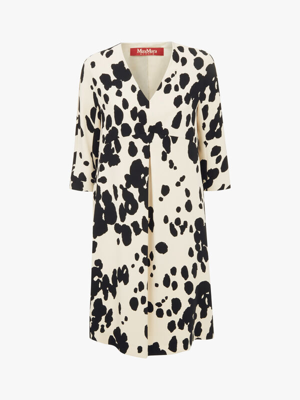 Cresta Print Midi Dress