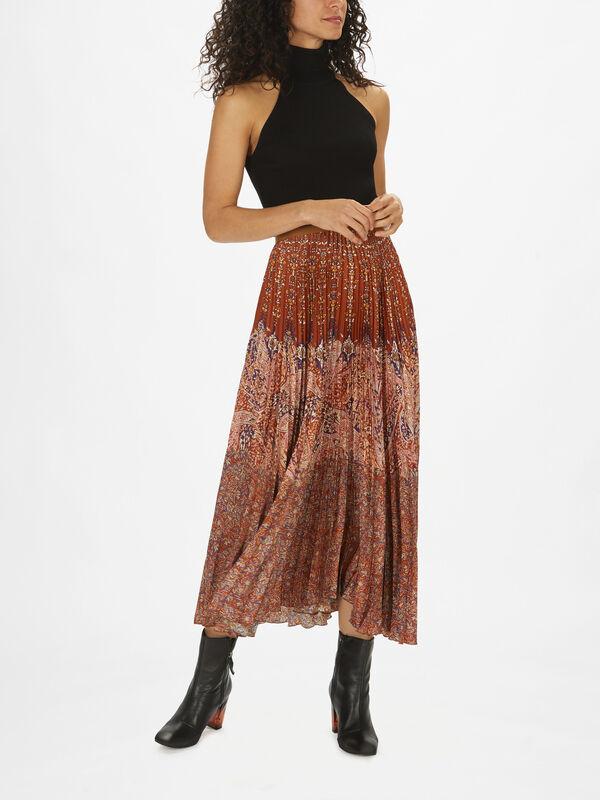 Fadia Pleated Skirt