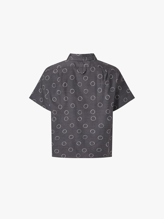 Circle Print Shirt