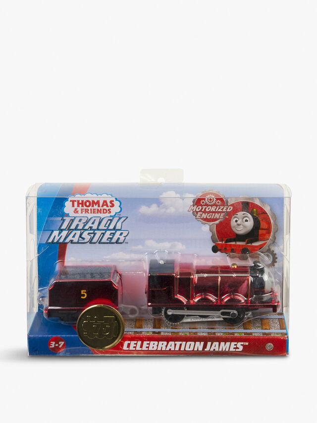 Celebration James Metallic Motorized Engine