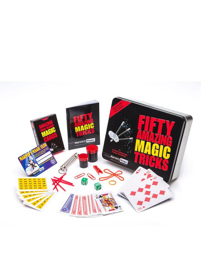 Fifty Amazing Magic Tricks