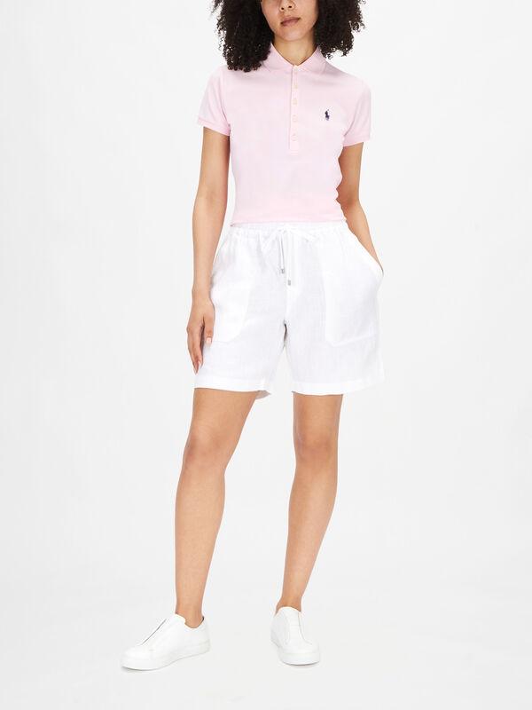 Brendee Classic Linen Shorts