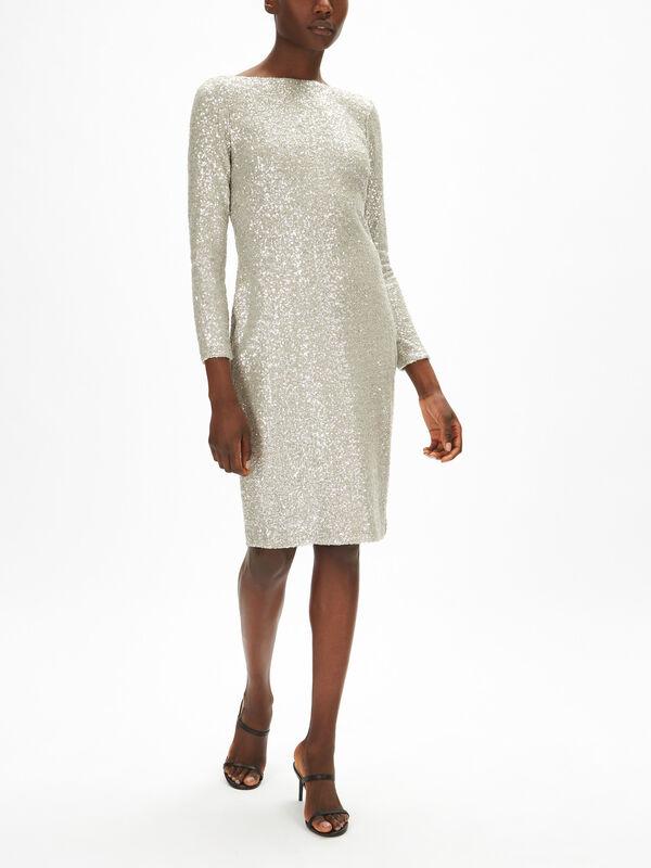 Esenia Long Sleeve Cocktail Dress