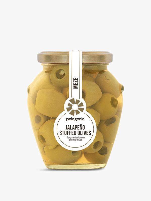 Jalapeno Stuffed Olives 300G