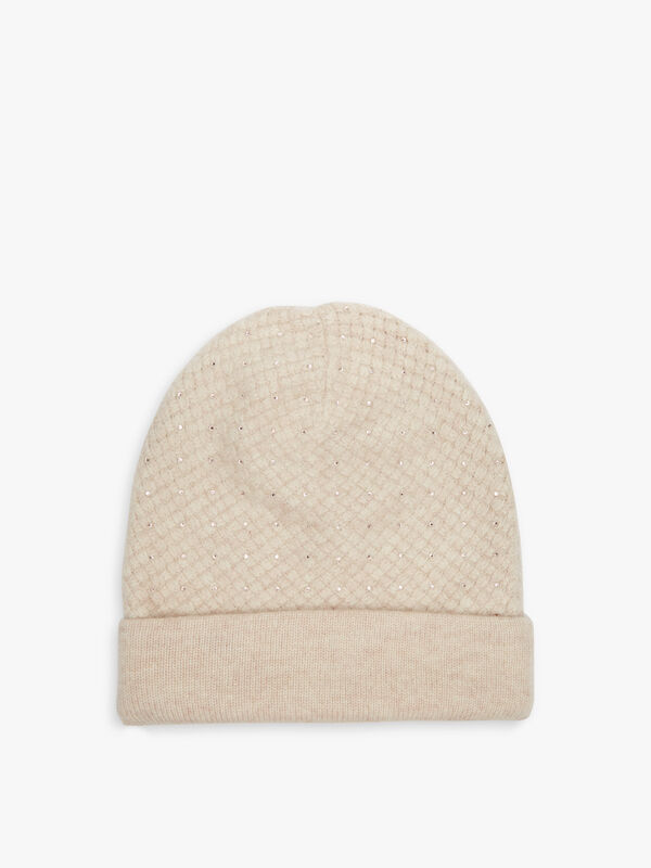 Waffle Slouch Scatter Hat