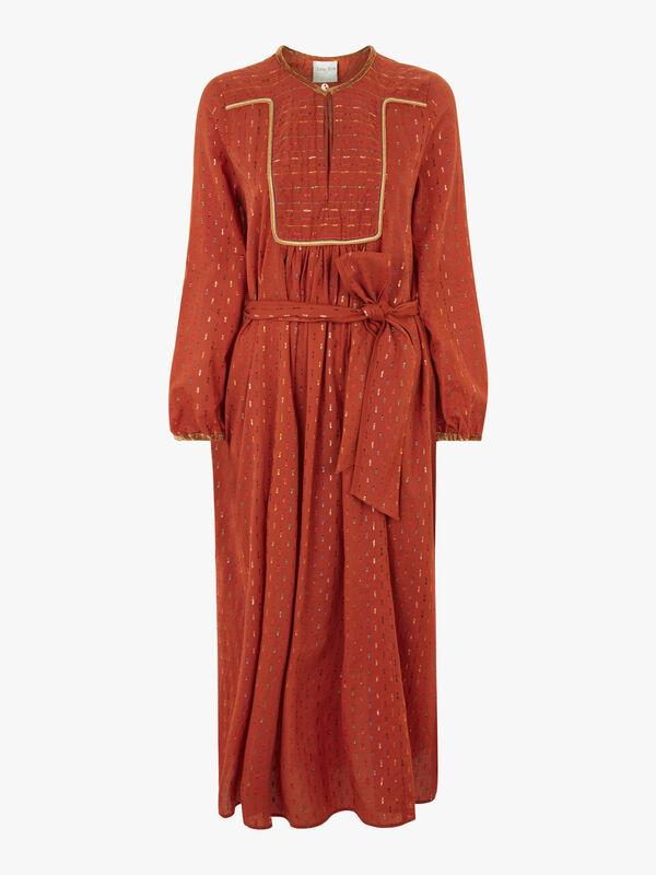 Gipsy Fil-Coupe Muslin Dress