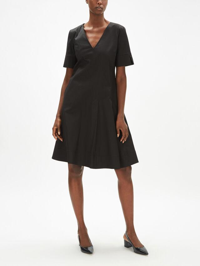 V Neck Cotton Dress