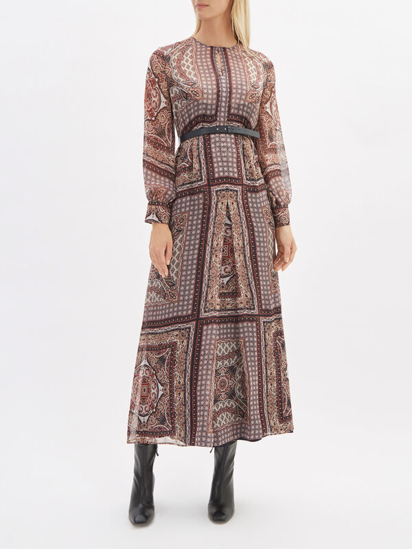 Rane Printed Dress